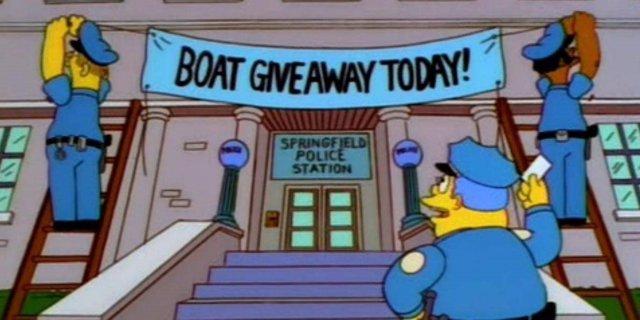 Los Simpson inspiran a la policía de South Yorkshire