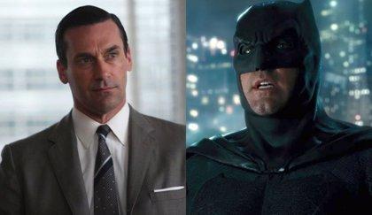 Así sería Jon Hamm como Batman en el DCEU