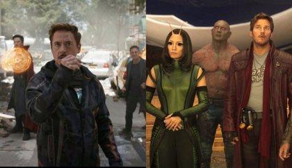 Infinity War: Vengadores y Guardianes de la Galaxia, juntos en una nueva imagen oficial