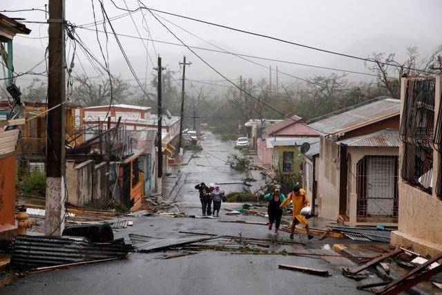 Daños del huracán 'Maria' en Puerto Rico