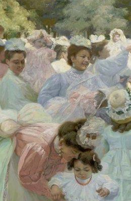 Imagen de la muestra sobre Ignacio Díaz Olano en el Bellas Artes de Álava