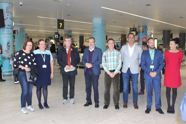 Acto en el Aeropuerto de Fuerteventura