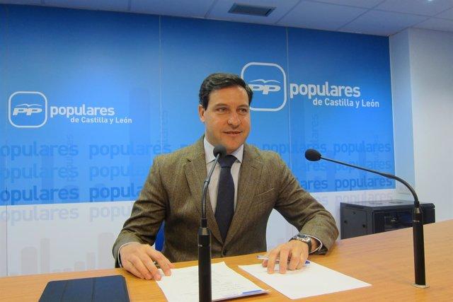 Valladolid.- Portavoz del Grupo Popular, Raúl de la Hoz