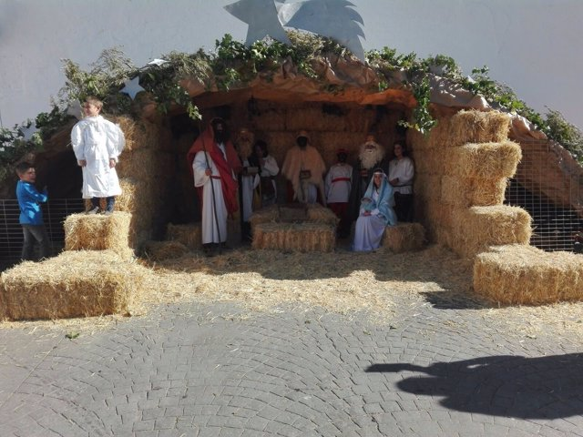 Belén viviente en Válor (Granada)