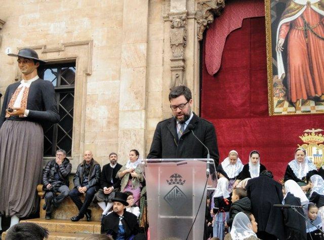 Antoni Noguera, Festa de l'Estendard