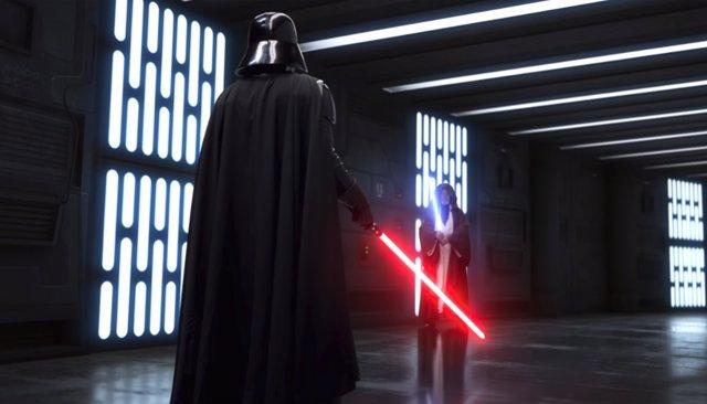 Darth Vader vs Obi-Wan en Star Wars