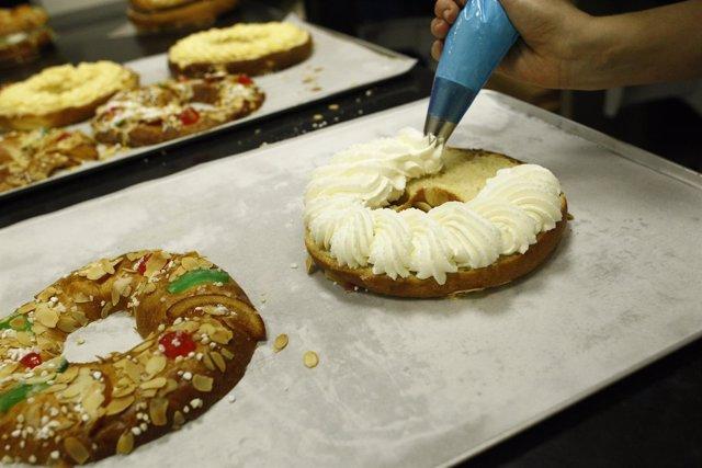 Elaboración del Roscón, Roscones de Reyes