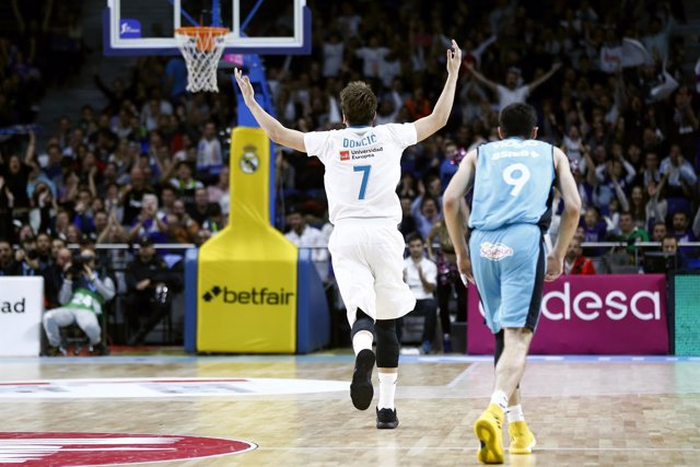 Luka Doncic en el Real Madrid - Movistar Estudiantes