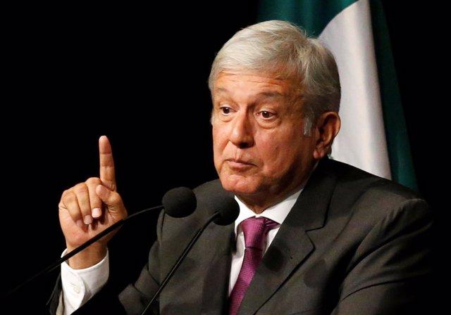 Candidato presidencial de Morena, Andrés Manuel López Obrador