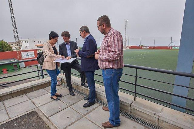 Visita Campo Fútbol De La Matanza