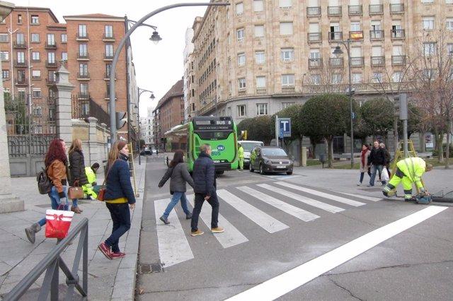 Tramo de María de Molina en el que cambia de sentido el tráfico
