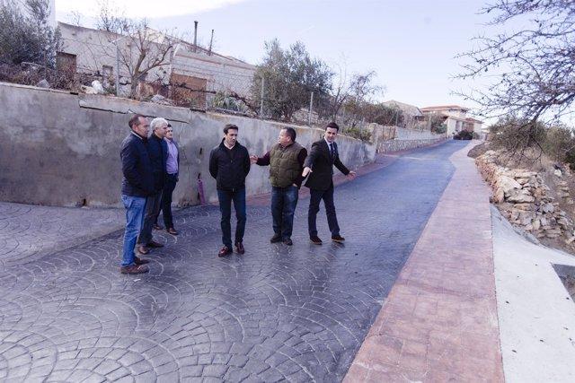 Una de las zonas mejoradas en Alcóntar