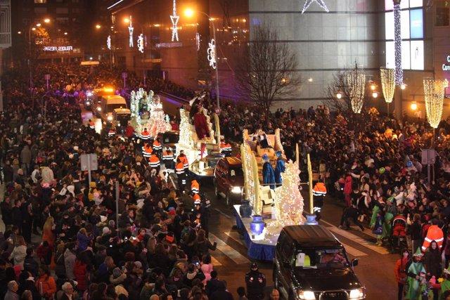 Cabalgata de Reyes en Fuenlabrada