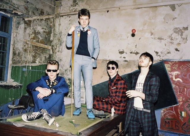 Fotografía promocional de la banda