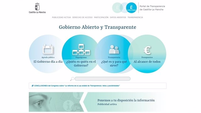 Portal de Transparencia de C-LM