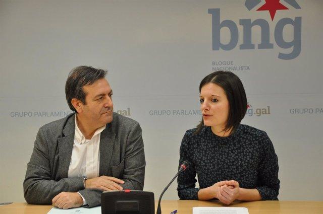 Luís Bará y Olalla Rodil