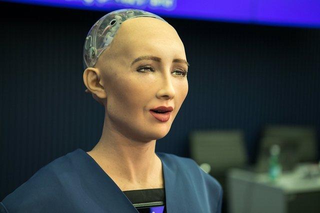 La robot Sophia