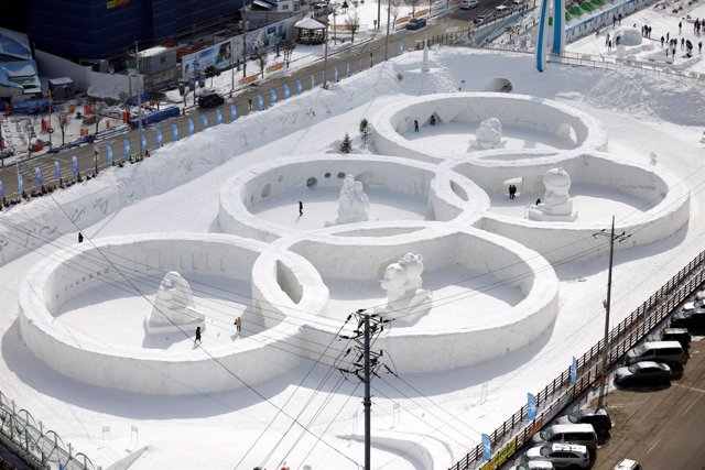 Aros Olímpicos de los Juegos de PyeongChang de 2018