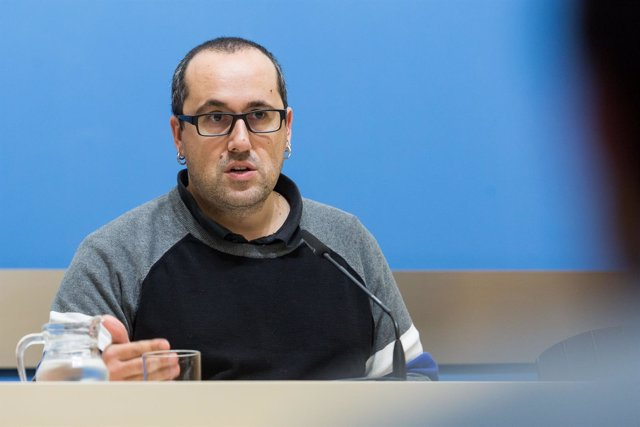 Alberto Cubero, hoy en rueda de prensa en el Ayuntamiento