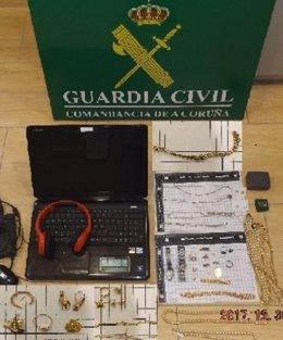 Detenido por robo en Boiro