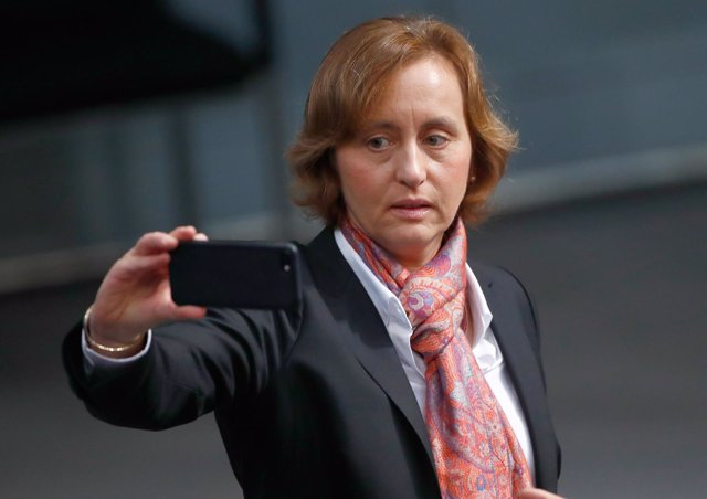 Beatrix von Storch, co-líder del partido Alternativa para Alemania (AfD)
