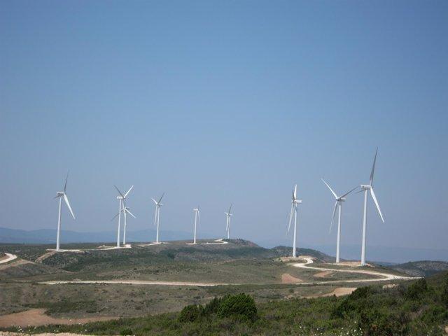 Aerogeneradores En Aragón. Energías Renovables