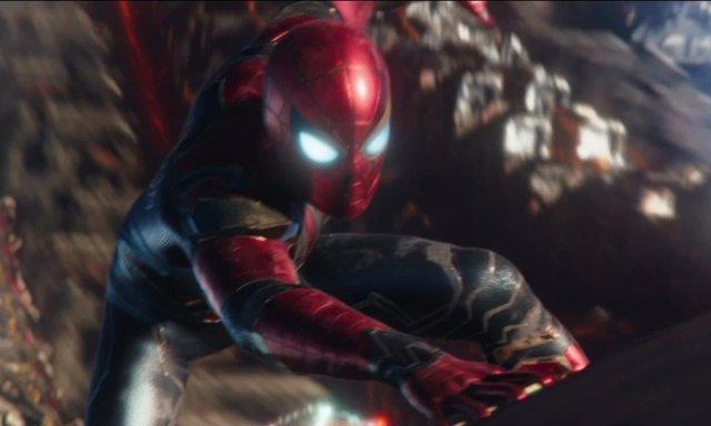 Spiderman en Infinity War