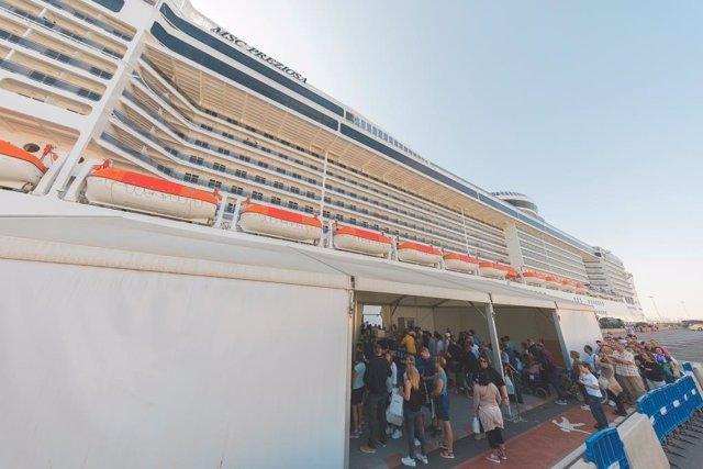 Cruceristas, crucero
