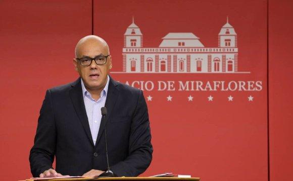 El ministro de Comunicación e Información, Jorge R