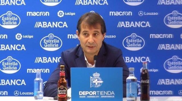 Richard Barral deja la dirección deportiva del Deportivo