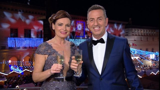 Presetnadores de Aragón TV en Nochevieja