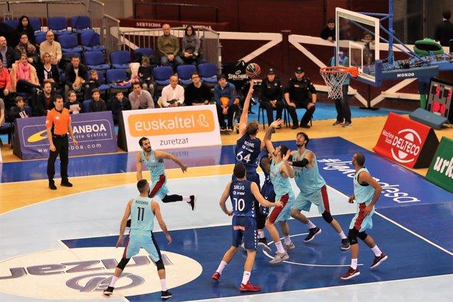 El Barcelona vence al Gipuzkoa Basket en Liga Endesa
