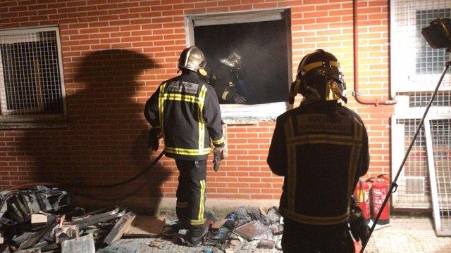 Fallece una mujer en un incendio en Alcobendas (Madrid)