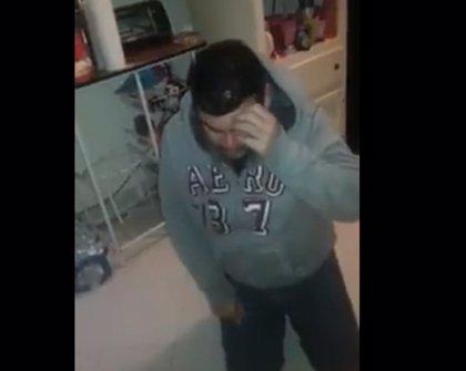 Un mexicano es humillado y agredido por su esposa, ella lo graba todo