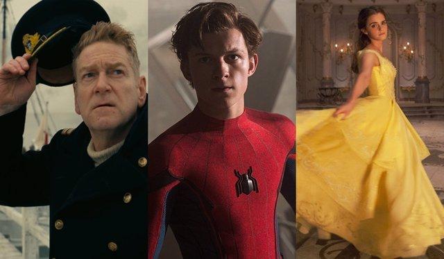 Dunkerque, Spider-Man y La bella y la bestia