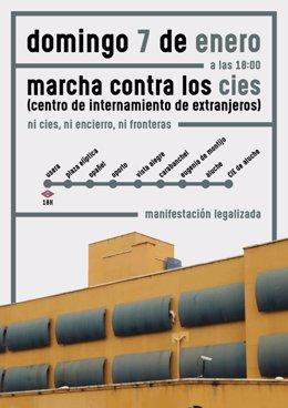 Cartel de la marcha
