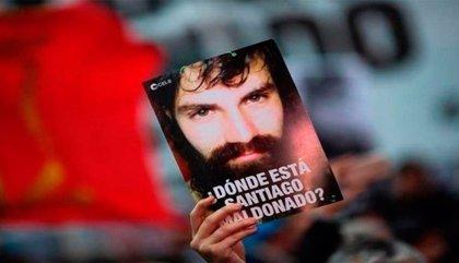 Gobierno de Argentina asciende al único imputado en el caso Maldonado