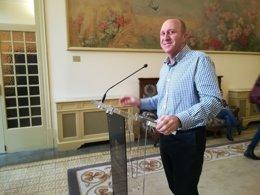 Andreu Alcover en el Parlament