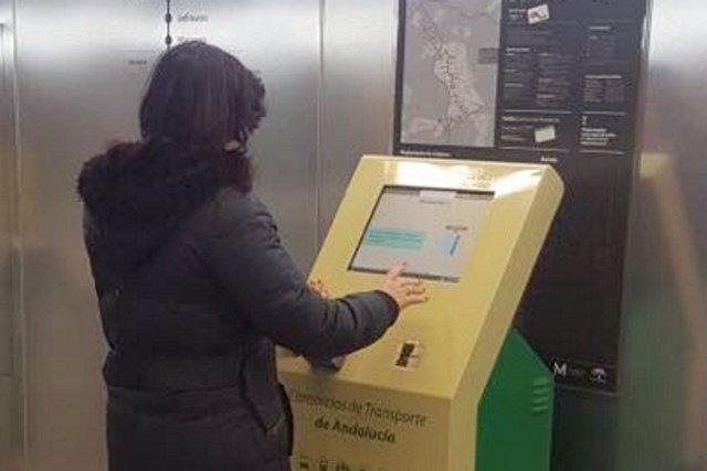 Máquina expendedora del metro