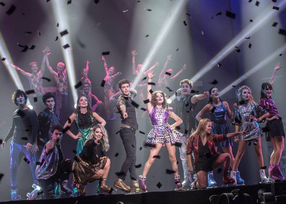 Soy luna live en concierto llegan a España