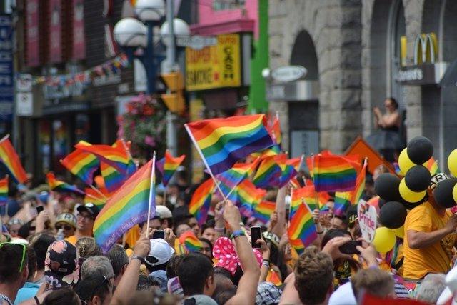 Manifestación gay