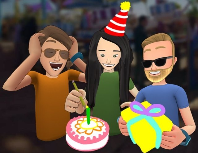 Facebook Spaces, red social de realidad virtual