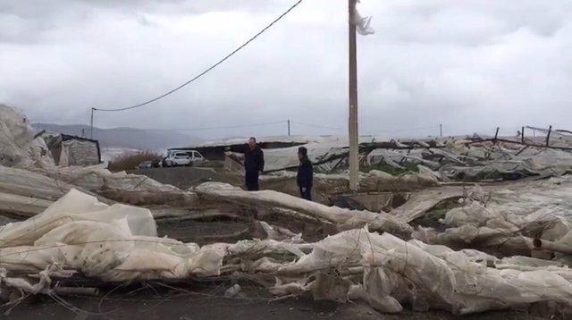 Varios peque os tornados da an unas 150 hect reas de - El ejido almeria ...