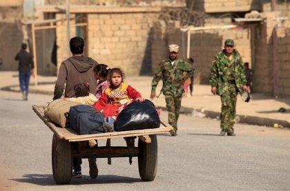 Trabajadores humanitarios acusan a las fuerzas de seguridad iraquíes de expulsar a desplazados a zonas inseguras