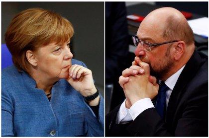"""Comienza la primera y maratoniana ronda de conversaciones para repetir la """"gran coalición"""" en Alemania"""