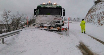 Cuenca, Guadalajara y Toledo registran 16 incidentes por acumulación de nieve
