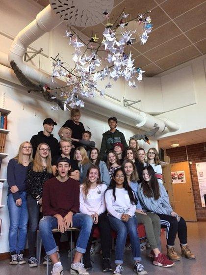 Un instituto extremeño y otro de Suecia se unen en un proyecto educativo basado en el vuelo de las grullas