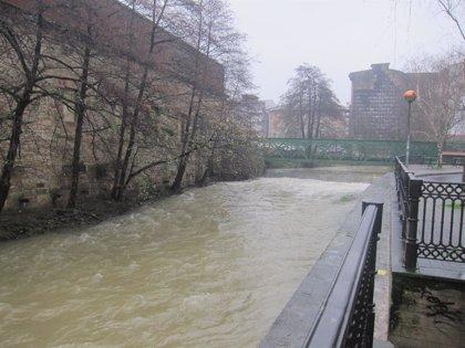 Registrados 71,4 litros de agua por metro cuadrado en Oiartzun (Gipuzkoa) y 67,1 en Ereñozu