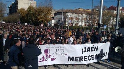 'Jaén merece más' anuncia una reunión con líderes políticos andaluces el día 23 y pide que asista Susana Díaz