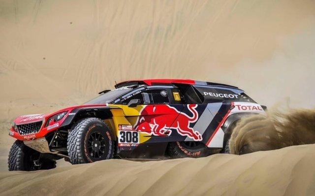 Cyril Despres Dakar segunda etapa